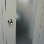 ガラス戸防犯対策