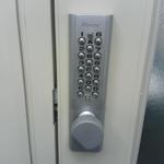 ボタン錠,補助鍵