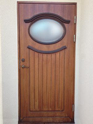 ドア全体の写真
